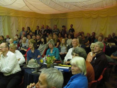 Audience in Landulph Hall