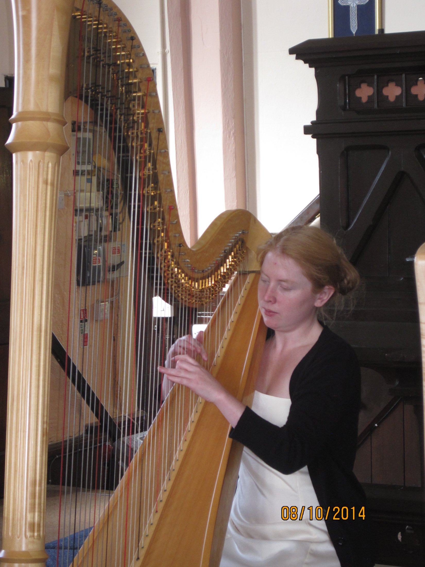 Lunchtime harpist concert with Katie McClaughry