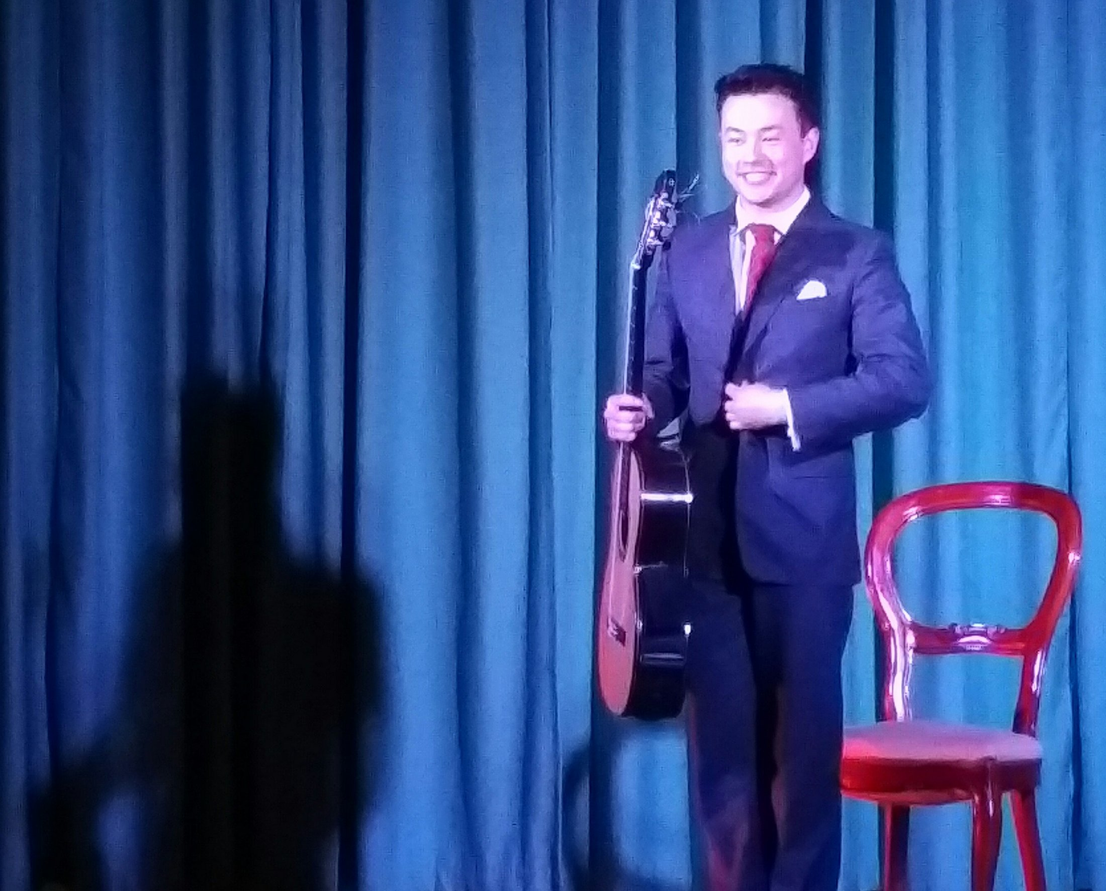 Sean Shibe, acclaimed classical guitarist
